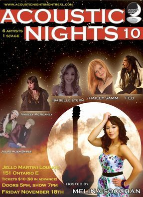 Acoustic Nights 10 Flyer