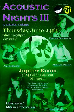 Acoustic Nights 3 Flyer