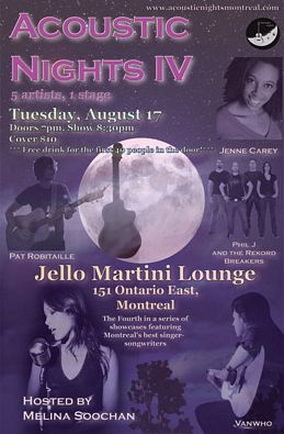 Acoustic Nights 4 Flyer