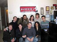 K103.7 Radio Kahnawake - Studio Group Shot - Acoustic Nights 1  (Ian Bartczak, Sule Heitner, Melina Soochan, Lori Jacobs, David Hodges, Patrick Lehman, Natalie Harvey, Jonathan Rosner, Sabrina Correa)