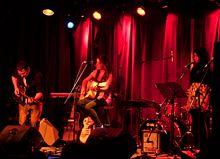 Kassandra Chamberland, Sabrina Correa and Jonathan Rosner - 2012 Acoustic Nights Gala