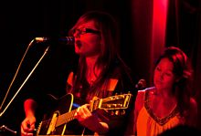 Laurie Martin and Melina Soochan - 2012 Acoustic Nights Gala