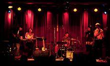 The Band: Melina Soochan, Sabrina Correa, Jonathan Rosner, Srikanth Narayanan, Jon Watts - 2012 Acoustic Nights Gala