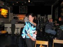 Melina Soochan in the crowd - Acoustic Nights 8