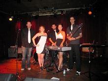 Melina Soochan, Jonathan Rosner, Srikanth Narayanan, Jon Watts and Hailey Samm - 2011 Acoustic Nights Gala