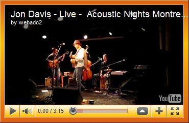 Jon Davis at Acoustic Nights 8