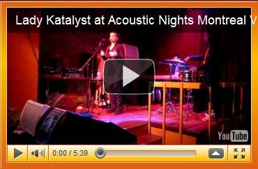 Lady Katalyst at Acoustic Nights 5