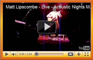 Matt Lipscombe at Acoustic Nights 7