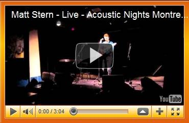 Matt Stern at Acoustic Nights 7