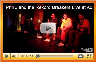 Phil J and the Rekord Breakers at Acoustic Nights 4